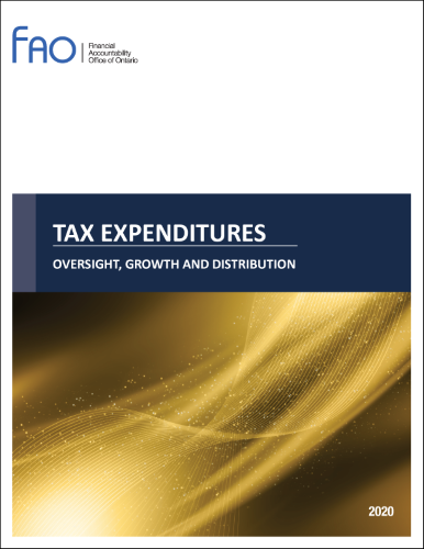Tax Expenditures: Oversight, Growth and Distribution